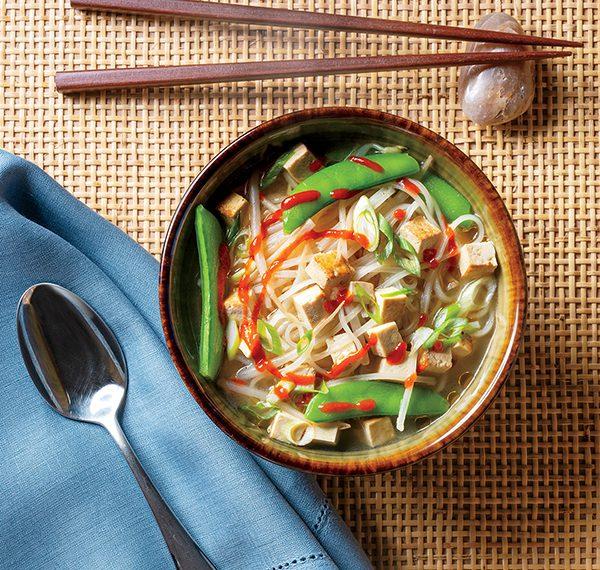 Noodle Soup with Tofu