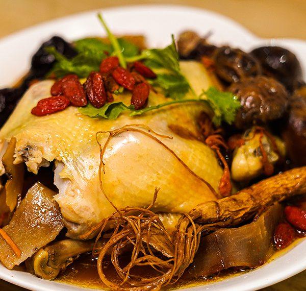 Stew Herbal Chicken
